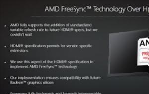 FreeSync, HDMI, AMD