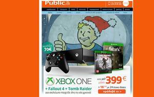 Διαθέσιμο, Public Xbox One, 1TB, Tomb Raider Fallout 4, Fallout 3, diathesimo, Public Xbox One, 1TB, Tomb Raider Fallout 4, Fallout 3