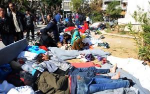 10 ευρώ για σεξ με πρόσφυγες,  τουαλέτες επί πληρωμή και ψωμί με χλωρίνη