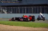 David Coulthard, Guy Martin,Silverstone
