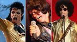 Prince Michael Jackson,James Brown