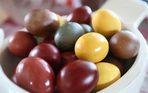 Με ποια τρόφιμα φτιάχνεις βαφή αυγών με φυσικό τρόπο;