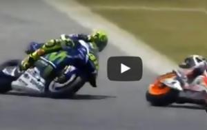 MotoGP - Catalunya Race, Rossi Vs Marquez, Salom [video]