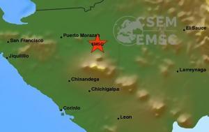 Μέχρι, Ονδούρα, σεισμός, Νικαράγουα, mechri, ondoura, seismos, nikaragoua
