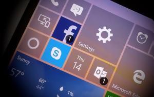 Βελτιωμένο Action Center, Windows 10 Mobile, veltiomeno Action Center, Windows 10 Mobile
