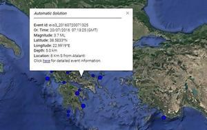 ΕΚΤΑΚΤΟ, Σεισμός, Αταλάντη, ektakto, seismos, atalanti
