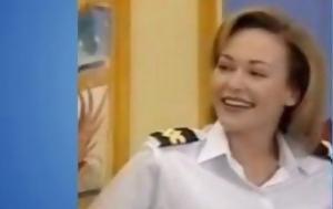 Η ανθυποπλοίαρχος από το «Θα σε δω στο πλοίο» γυμνόστηθη! (vid)