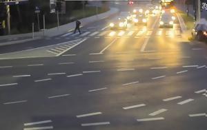Ένα ταξί γλιτώνει ποδηλάτη από βέβαιο θάνατο (και όλο αυτό καταγράφεται σε βίντεο)