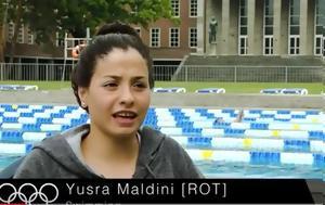 Yusra Mardini, From Syria, Rio2016