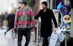David, Brooklyn Beckham