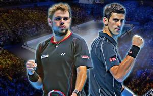 Τζοκοβιτς Vs Βαβρίνκα, US Open, tzokovits Vs vavrinka, US Open