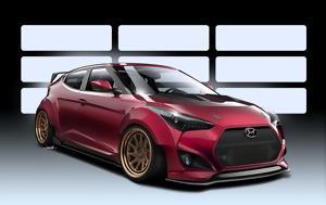 Hyundai Veloster Concept, SEMA