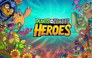 Διαθέσιμο, Android, Plants, Zombies Heroes, diathesimo, Android, Plants, Zombies Heroes