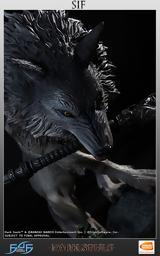 Μαγευτικό, Sif, Great Grey Wolf, First 4 Figures,mageftiko, Sif, Great Grey Wolf, First 4 Figures