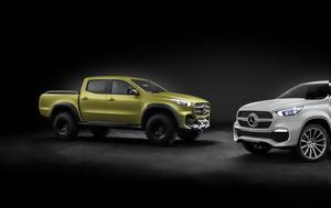 Επίσημο, Mercedes X-Class Concept, episimo, Mercedes X-Class Concept