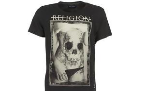 T-shirt Skully Belly Religion