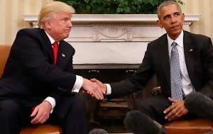 ΤΩΡΑ, Λευκό Οίκο, Τραμπ -, Ομπάμα LIVE, tora, lefko oiko, trab -, obama LIVE