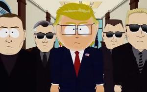 O Τραμπ, South Park Photos, Video, O trab, South Park Photos, Video