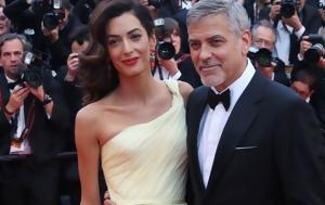 George, Amal Clooney