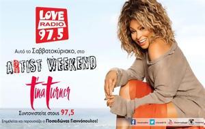 Σαββατοκύριακο 26 - 2711, Artist Weekend, Tina Turner, savvatokyriako 26 - 2711, Artist Weekend, Tina Turner