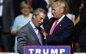 "Nigel Farage, Donald Trump, ""Just, Two, Us"""