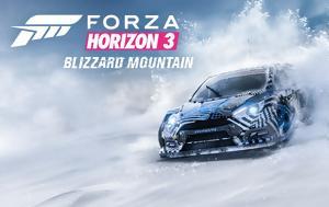 Forza Horizon 3, Ορεινές, Blizzard Mountain, Forza Horizon 3, oreines, Blizzard Mountain