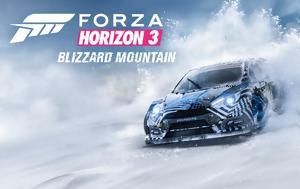 Ford Focus RS RX, Ken Block, Forza Horizon 3, Blizzard Mountain