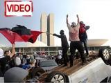 Βραζιλία, Διαδήλωση,vrazilia, diadilosi