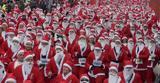 Κυκλοφοριακές, Αθήνα, Κυριακή, Athens Santa Run,kykloforiakes, athina, kyriaki, Athens Santa Run