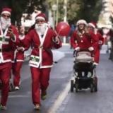 Αθήνα, Κυκλοφοριακές, Κυριακή, Athens Santa Run,athina, kykloforiakes, kyriaki, Athens Santa Run