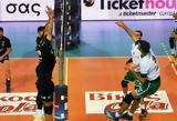 Bόλεϊ, Παναθηναϊκός, 3-1, ΠΑΟΚ,Bolei, panathinaikos, 3-1, paok