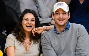 Ξανά, Mila Kunis, Ashton Kutcher, xana, Mila Kunis, Ashton Kutcher