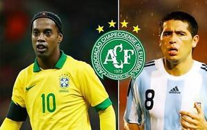 Retired, Ronaldinho Riquelme, Brazil's, Chapecoense