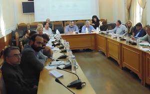 Συνεδρίαση, Επιτροπής Περιβάλλοντος, Χωροταξίας Περιφέρειας Κρήτης, synedriasi, epitropis perivallontos, chorotaxias perifereias kritis