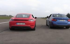 BMW M240i Vs Porsche 718 Cayman, 400αρι, BMW M240i Vs Porsche 718 Cayman, 400ari