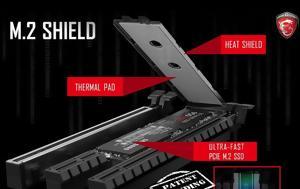 MSI, M 2 SSDs