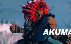 O Akuma, Street Fighter V, 20 Δεκεμβρίου, O Akuma, Street Fighter V, 20 dekemvriou