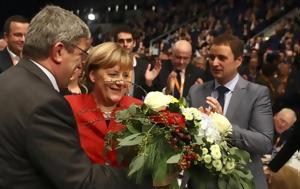 Επανεξελέγη, Μέρκελ, Χριστιανοδημοκρατών, epanexelegi, merkel, christianodimokraton
