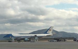 Πώς, Τραμπ, Air Force One, Boeing, pos, trab, Air Force One, Boeing