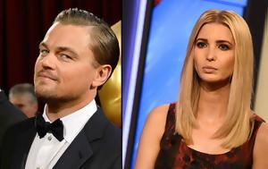 DiCaprio, Ivanka Trump