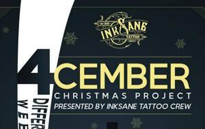 4CEMBER Christmas, Inksane Tattoo Crew