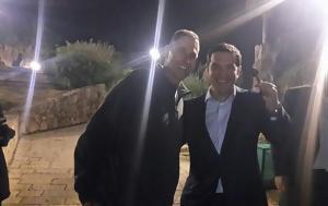 Τσίπρας, Uri Geller, Photo, tsipras, Uri Geller, Photo