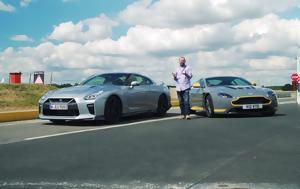 Πόσο, Nissan GT-R, Aston Martin V12 Vantage S, poso, Nissan GT-R, Aston Martin V12 Vantage S