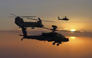 Ελικόπτερα Chinook, Apache, ΗΑΕ, Σαουδική Αραβία, elikoptera Chinook, Apache, iae, saoudiki aravia