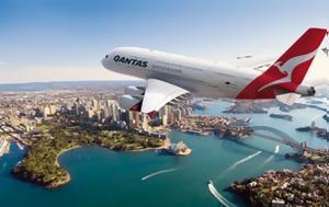 Απευθείας, Αυστραλία - Ευρώπη, Qantas, apeftheias, afstralia - evropi, Qantas