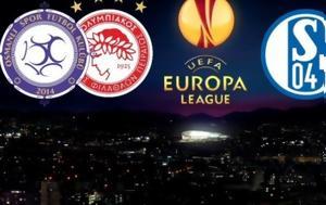 Olympiakos, PAOK, Schalke
