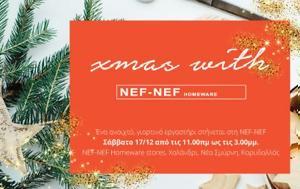 NEF-NEF, Εργαστήρι Xmas Workshop, NEF-NEF, ergastiri Xmas Workshop