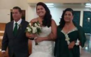Η μητέρα της νύφης καταπλακώθηκε από δέντρο - Οι τελευταίες της στιγμές!