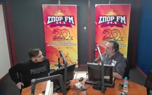 Mac Pappas, ΣΠΟΡ FM …, Mac Pappas, spor FM …