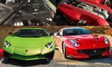 Ferrari F12, Lamborghini Aventador SV, Ποια, [video],Ferrari F12, Lamborghini Aventador SV, poia, [video]